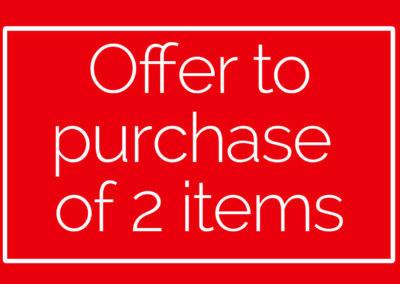 Offer for the purchase of 2 to 4 items
